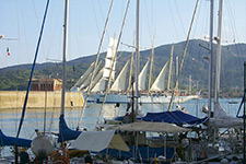 The yacht harbor ofPortoferraio