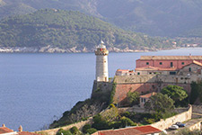 The light house of Portoferraio